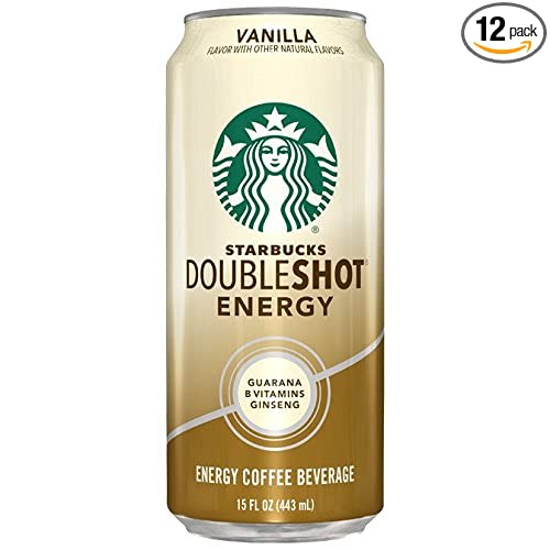Review Starbucks Doubleshot Energy Coffee, Vanilla, 15 Ounce Cans (12 Count)