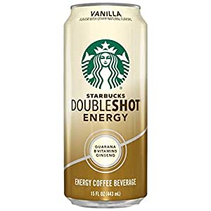 Starbucks Doubleshot Energy Coffee, Vanilla, 15 Ounce Cans (12 Count)