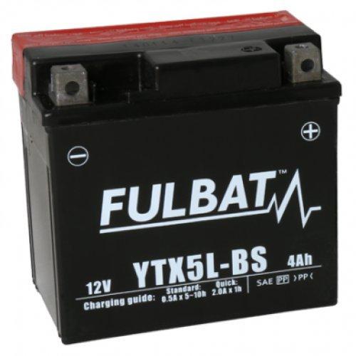 Fulbat - Batterie moto YTX5L-BS é tanche 12V / 4Ah