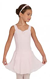 Capezio Youth Tactel Pull-On Skirt, Lavender-MD 8/10