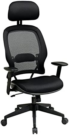 Space Air Grid Deluxe High-Back Mesh Office Chair