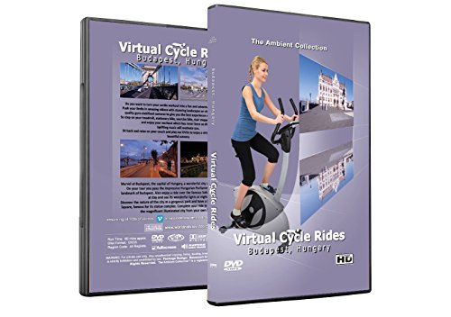 Virtual Cycle Rides DVD - Budapest, Hungary - for Indoor Cycling, Treadmill and Jogging ()