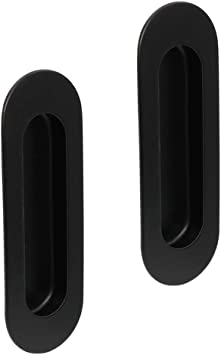 Goldenwarm - Tiradores para puertas correderas, color negro: Amazon.es: Bricolaje y herramientas