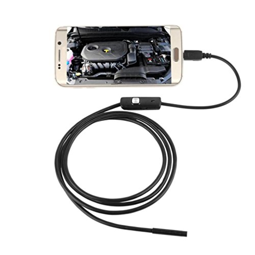 DZT1968® Waterproof 6 LED 7MM Lens Endoscope Endoscopes Inspection Camera For Android Phone (3.5 M) by DZT1968