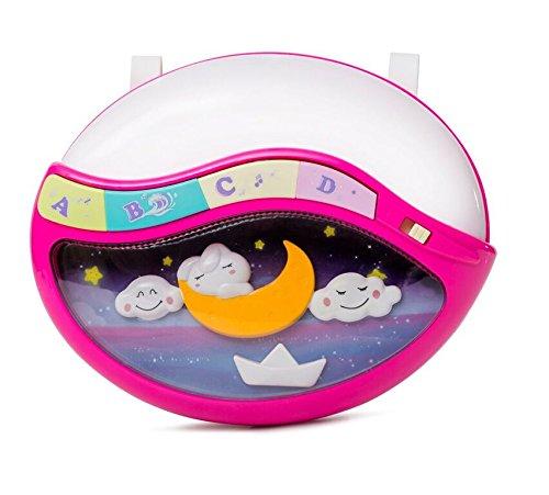 Play Baby Toys Magic Sleep Through The Night Soother Baby Crib Clip In Night Lamp With Multiple Melodies To Put Your Baby To Sleep, In Pink by Play Baby (Image #1)