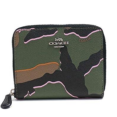 462456a29741 Amazon | COACH(コーチ) 二つ折り財布 F32155 ブラック(迷彩柄) [中古] | COACH(コーチ) | 財布