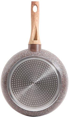 Gibson 112075.01 Orestano Fry Pan Nonstick, 8-Inch, Granite