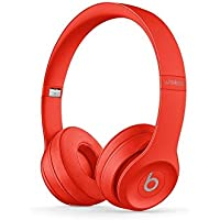 New Beats Solo3 Wireless On-Ear Headphones - Citrus Red