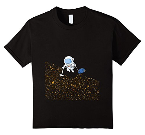 Price comparison product image Kids Funny Space Shirt The Vacuum of Space 10 Black
