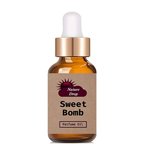 Nature Drop Sweet Bomb Perfume Oil, 10 ml - Delightful Natural Perfume oil for Women and Men