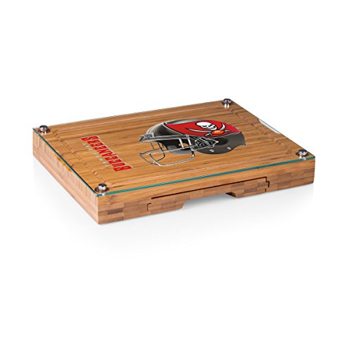 PICNIC TIME NFL Tampa Bay Buccaneers Concerto 5-Piece Cheese Board Serving Set
