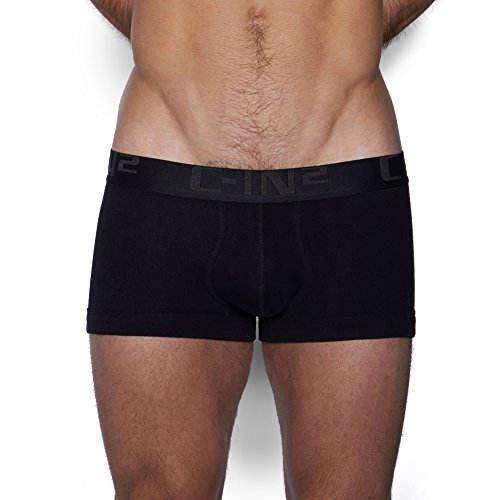 - C-IN2 Men's Core Lo No-Show Army Trunk,Black,Large