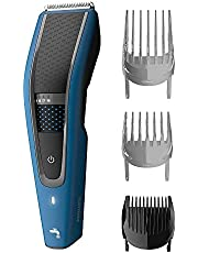 Philips Washable Hair Clipper Series 5000 with 28 Length Settings (0.5-28mm) & 75 min Cordless Use/8hr Charge, HC5612/15