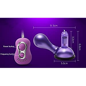 Zlvo 7 Modes Nipple Stimulator Breast Massager Vibrating Nipple Pump Nipple Sucker Vibrator Sex Toys for Adult