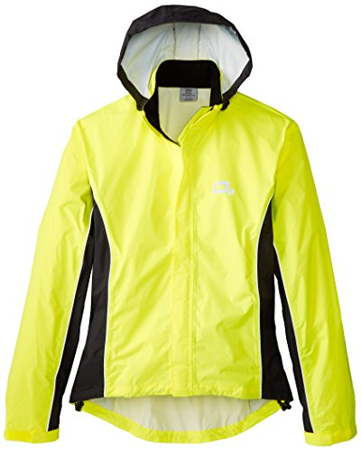 O2 Rainwear Primary Jacket, Yellow, Medium O2 Rainwear