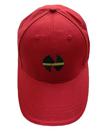 GK-O Captain Tsubasa Cap Nankatsu School Wakabayashi Genzo Baseball Hat Sport Hats (Red)