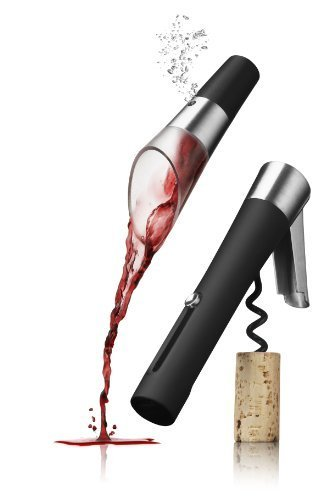 Wineset, waiters corkscrew and decanting pourer vignon