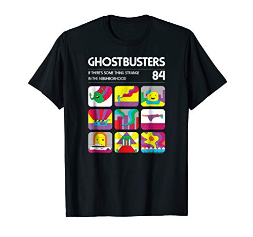 Ghostbusters Ghostbusters 84 Atari Box Art T-shirt for Men, Women, Kids