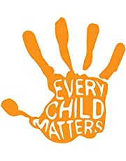 Orange Every Child Matters Decal Sticker for car, Truck, Computer, Laptop, Vehicle from The Original Patty Cakes