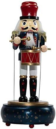 Nussknacker farbig bemahlt mit Trommel Deko aus Holz cecilia/&bens Spielzeug