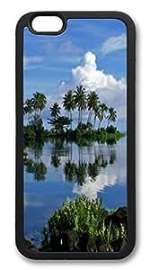 iphone 6 4.7inch Case Oasis TPU Custom iphone 6 4.7inch Case Cover black