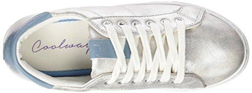 Coolway TUCO - Zapatillas, Mujer Plateado