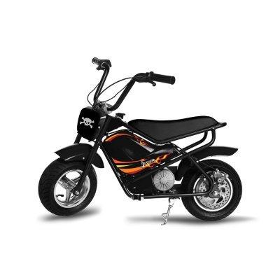 Electric Scooter Jr. Junior Jetson Electric E-bike Kids Scooter Bike (Black)