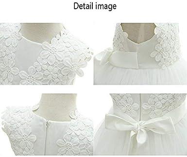 Dream Rover AHAHA Baby M/ädchen Prinzessin Kleid Blumenm/ädchenkleid Taufkleid Festlich Kleid Hochzeit Partykleid Festzug Babybekleidung