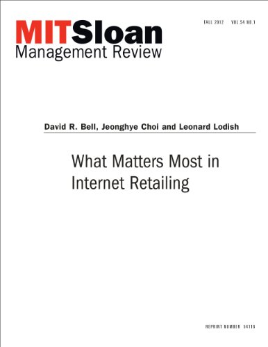 What Matters Most in Internet Retailing - Journal Article Pdf