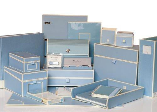 Semikolon Square Nesting/Organizer Boxes, Set of 5, Ciel Sky Blue (309-09) by Semikolon by Pierre Belvedere (Image #1)