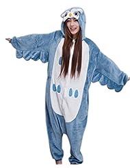 FashionFits Unisex Animal Onesies Pyjamas Owl Jumpsuit Costumes
