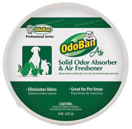 Solid Odor Absorber, 8oz, PK12