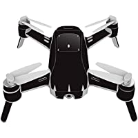 Skin For Yuneec Breeze 4K Drone – Solid Black | MightySkins Protective, Durable, and Unique Vinyl Decal wrap cover | Easy To Apply, Remove, and Change Styles | Made in the USA