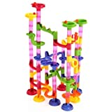Deluxe Marble Race/Marble Run Play Set 105 Pieces,Construction Building Blocks Toys,Educational Building Blocks Toys…