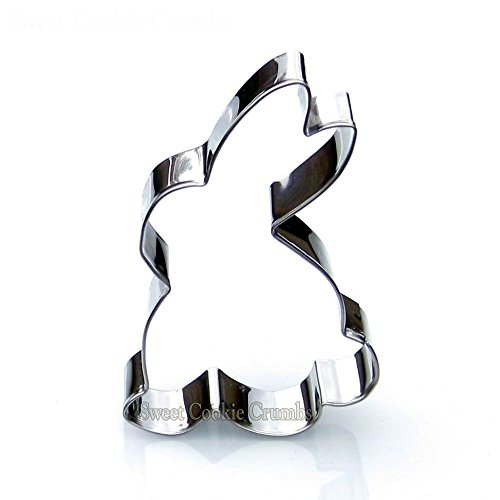 Easter Rabbit Clipart (Sitting Rabbit Cookie Cutter- Stainless Steel)