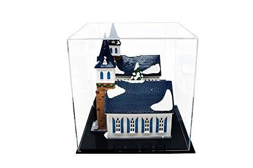 Versatile Acrylic Mirrored Display Case, Cube, Dust Cover or Riser 12