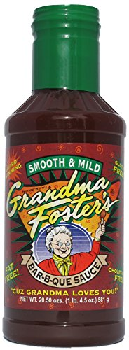 Grandma Foster's Smooth and Mild Bar-B-Que Sauce 20.5 oz. (Mild Sauce Barbeque)