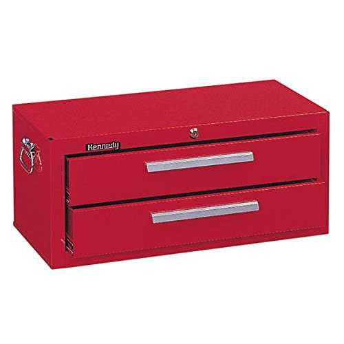 Kennedy Manufacturing 2602R 27'' 2-Drawer Mechanics' Base Cabinet, Industrial Red by Kennedy Manufacturing
