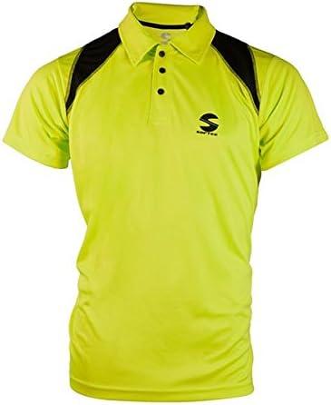 Softee - Polo Padel Reflex Color Amarillo Fluor/Negro Talla S ...