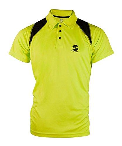 Softee - Polo Padel Reflex Color Amarillo Fluor/Negro Talla S: Amazon.es: Deportes y aire libre