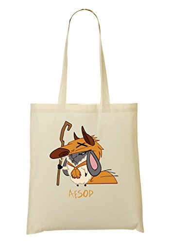Luketee Aesop Sheep Sheppard Handbag Shopping Bag