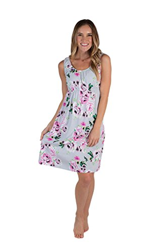 Baby Be Mine 2 in 1 Maternity Nursing Nightgown Nightdress Hospital Bag Must Have, Pregnancy Breastfeeding (Large, Olivia)