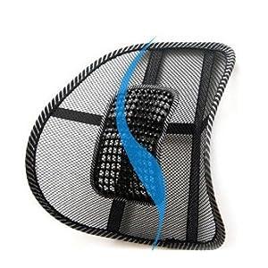 ゲインマートオリジナル ランバーサポート 超軽量 蒸れないメッシュタイプ 腰痛対策