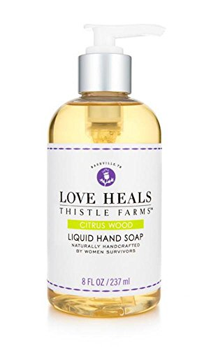 Thistle Farms Love Heals Liquid Hand Soap, 8 fl.oz (Citrus Wood)
