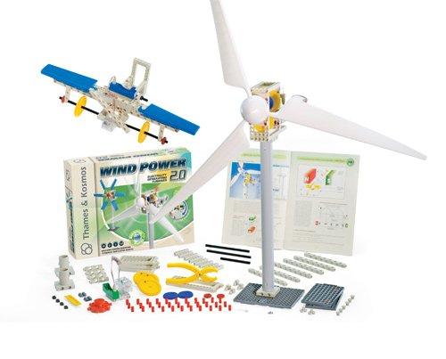 Deluxe New 2.0 Version Wind Power Kit - Includes Bonus Pop Toob!