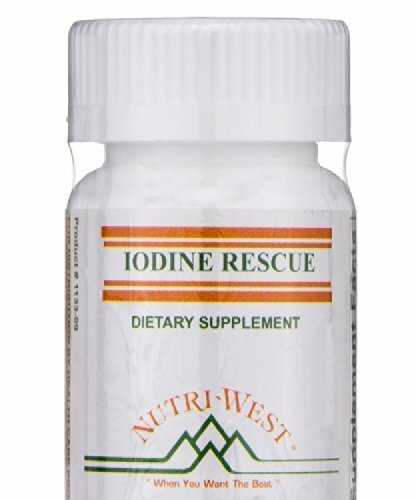 Iodine Rescue 90 Tablets by Nutri West by Nutri-West