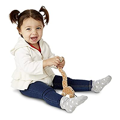Melissa & Doug Giraffe Wooden Grasping Toy for Baby: Melissa & Doug: Toys & Games