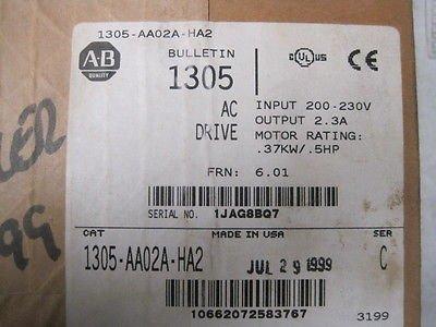 NEW ALLEN BRADLEY 1305-AA02A-HA2 DRIVE
