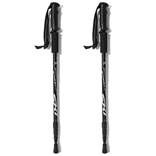 Hiking Stick Hiking Pole Walking Stick Shock Absorbing Trekking Pole(1 pack)