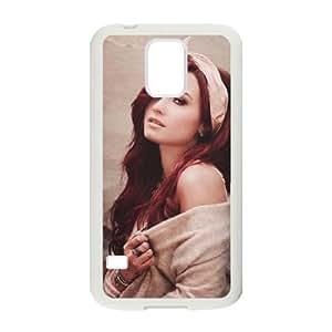 Demi Lovato Samsung Galaxy S5 Cell Phone Case White present pp001_9758921